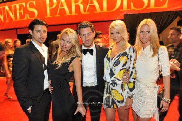 Jason Swartz of Alliance Talent at Chopard Cannes Film Festival