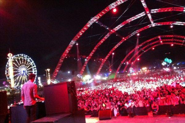 Jason Swartz Backstage With Calvin Harris | Alliance Talent