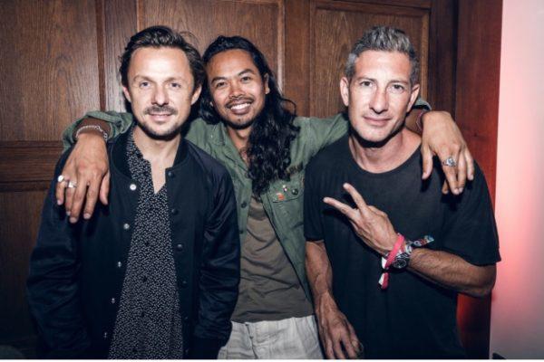 Jason Swartz at Lollapalooza with Temper Trap, Martin Solveig